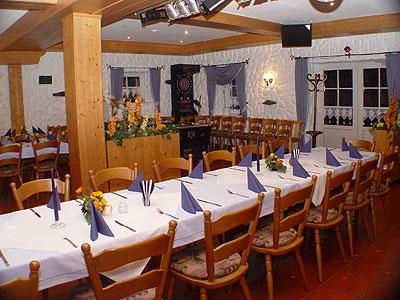 Biergarten im Hotel Am Kleeberg